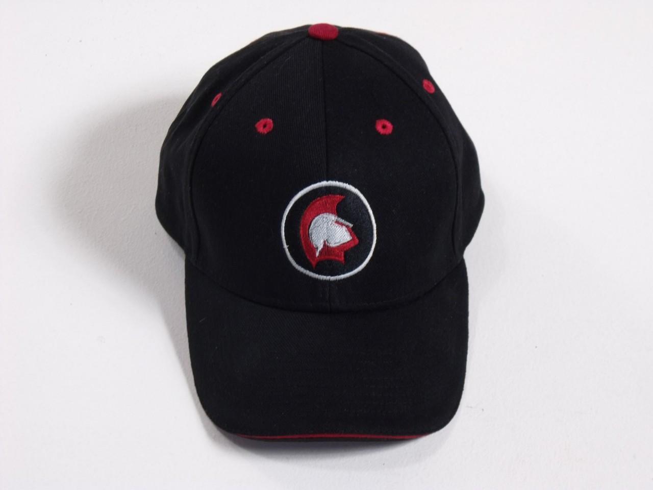 Spartan Brush Cotton Cap Black