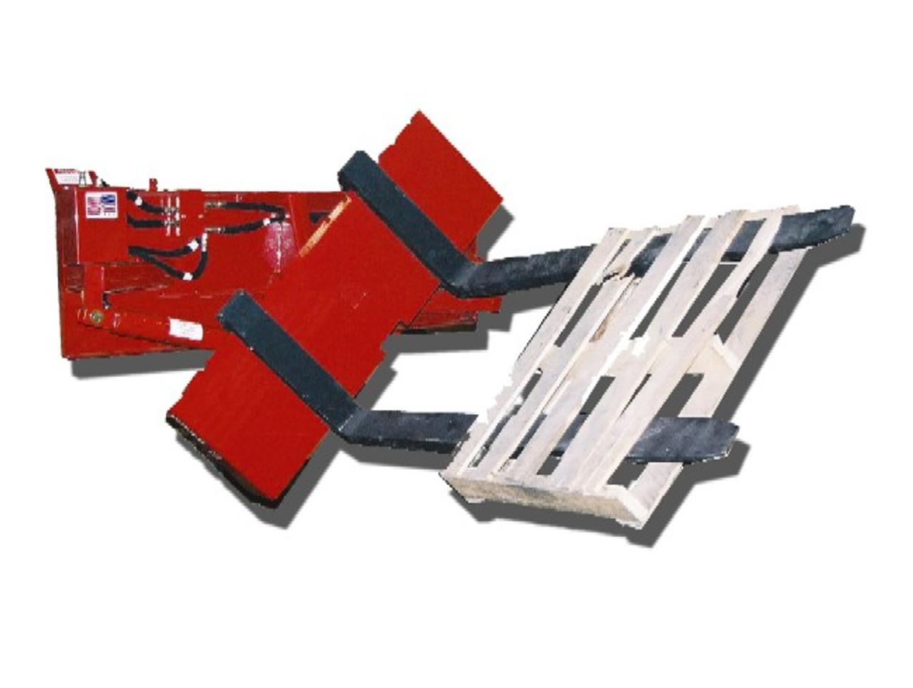 Skid Steer 127° Hydraulic Rotating Base