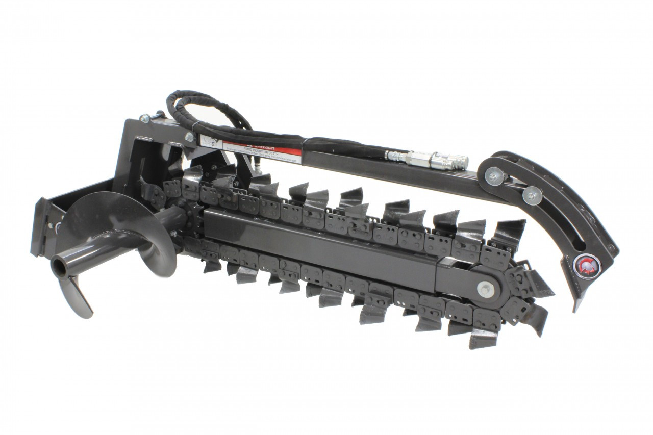 Mini Skid Steer Trencher