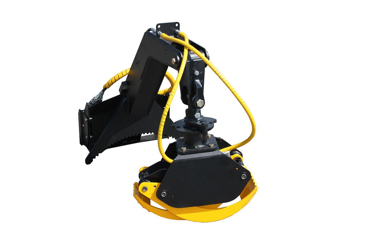 Mini Skid Steer Multi Purpose Grapple (Hydraulic Rotation)