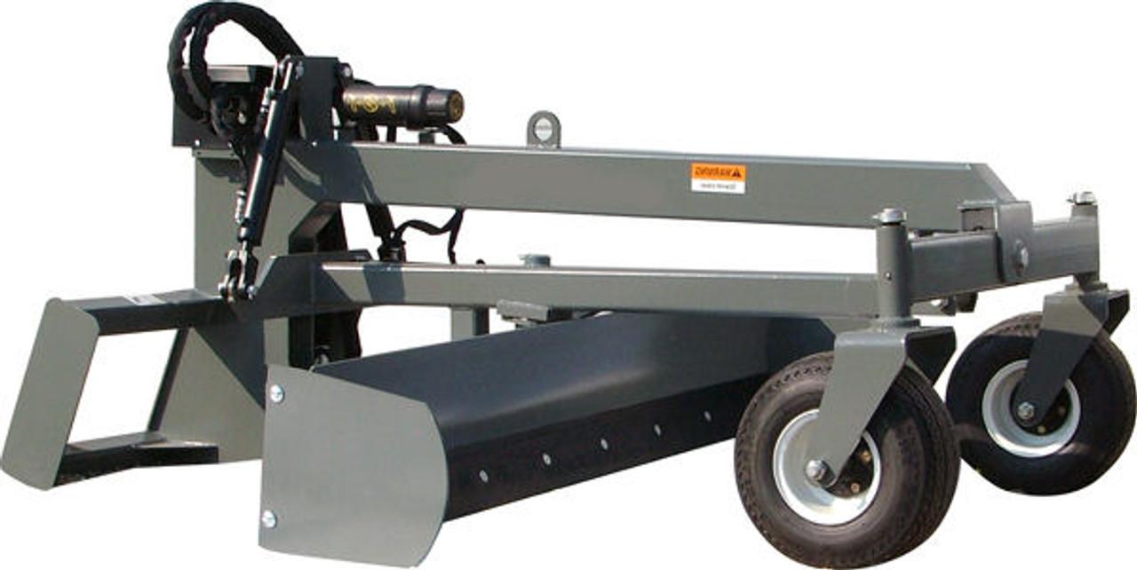 Skid Steer Grader Attachment (Laser System Optional)