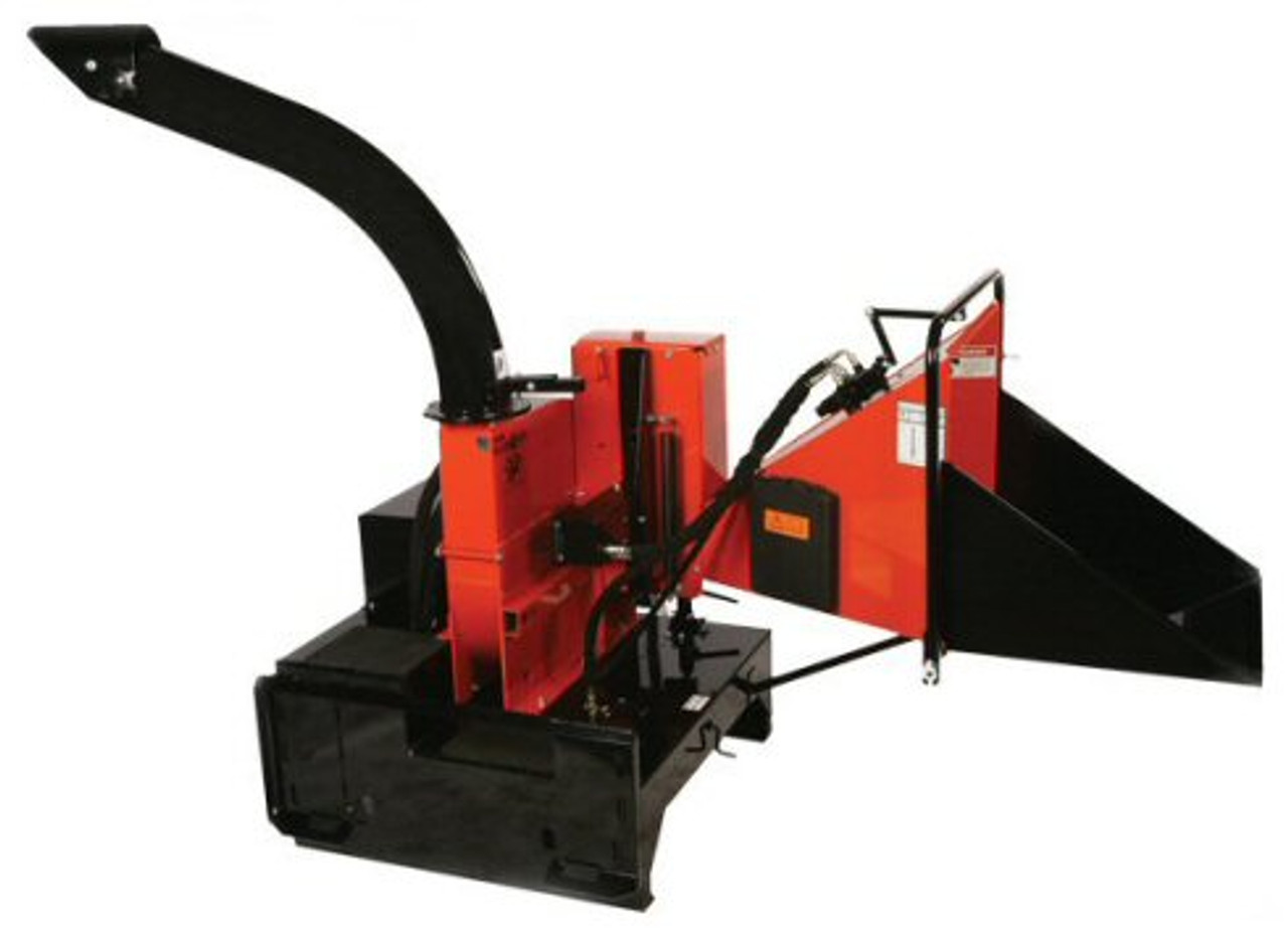 "Skid Steer Chipper Attachment High Flow (8"" dia Material)"