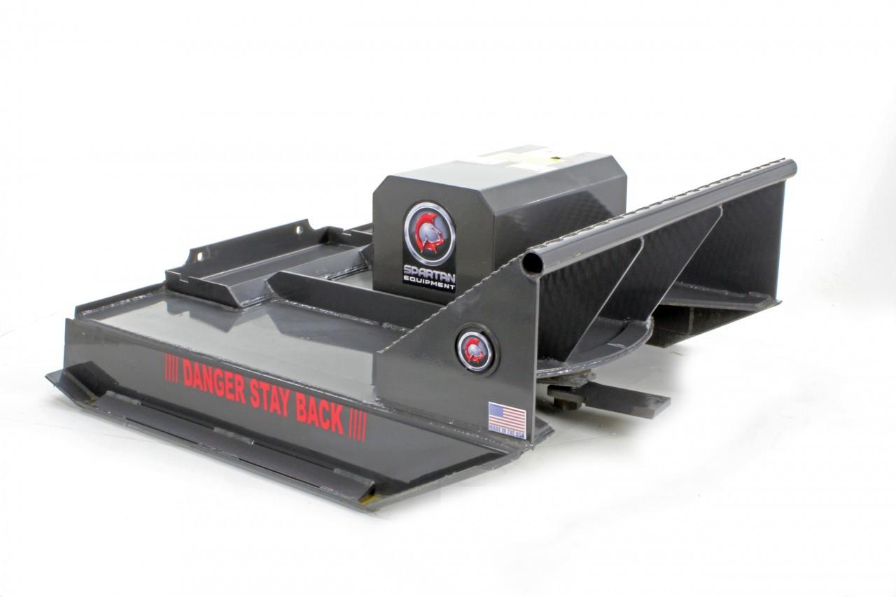 """Mini Skid Steer Brush Cutter Attachment 42"""" Wide"""