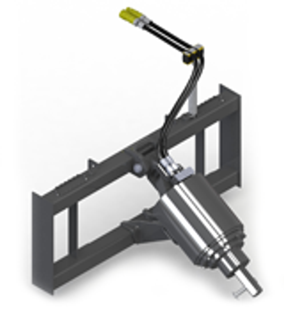 """Auger Attachment 2.56"""" Round Drive Model SE3K2 Series 2 Speed Electrical Shift"""