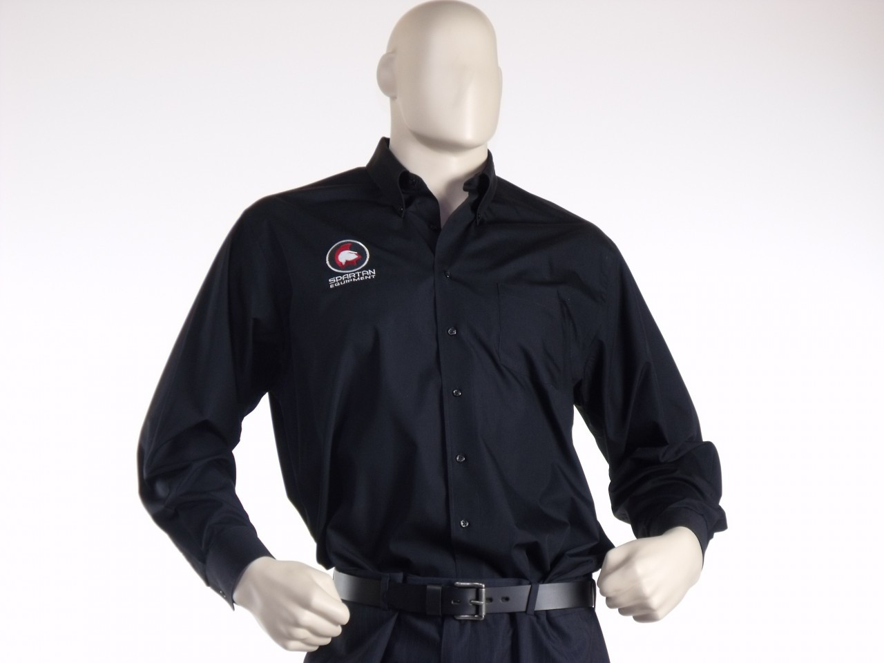 Spartan Dress Shirt Black