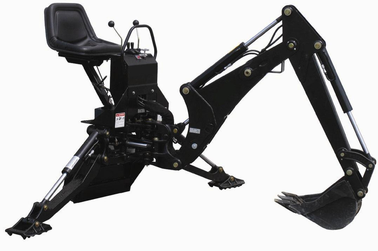 Mini Skid Steer Backhoe Attachment Model 365