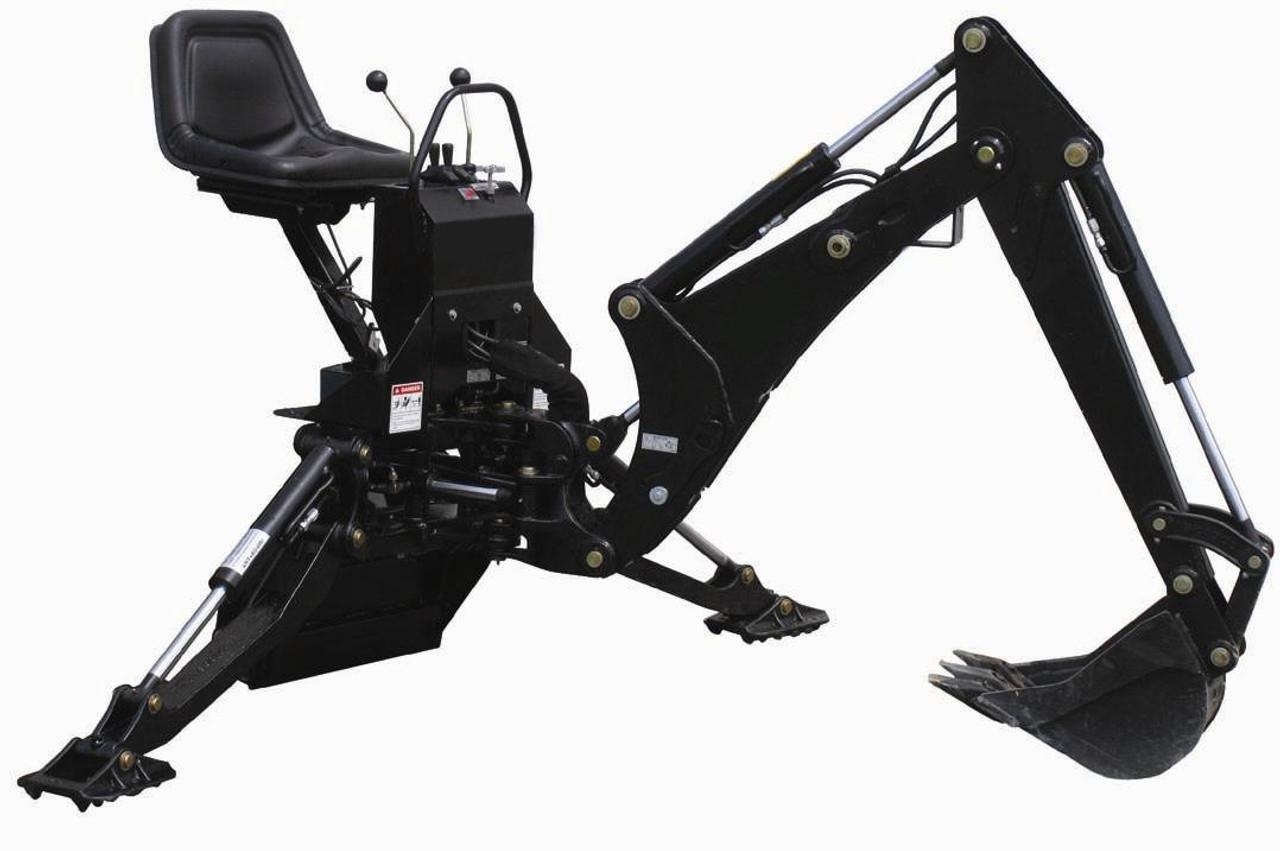 Mini Skid Steer Backhoe Attachment Model 365