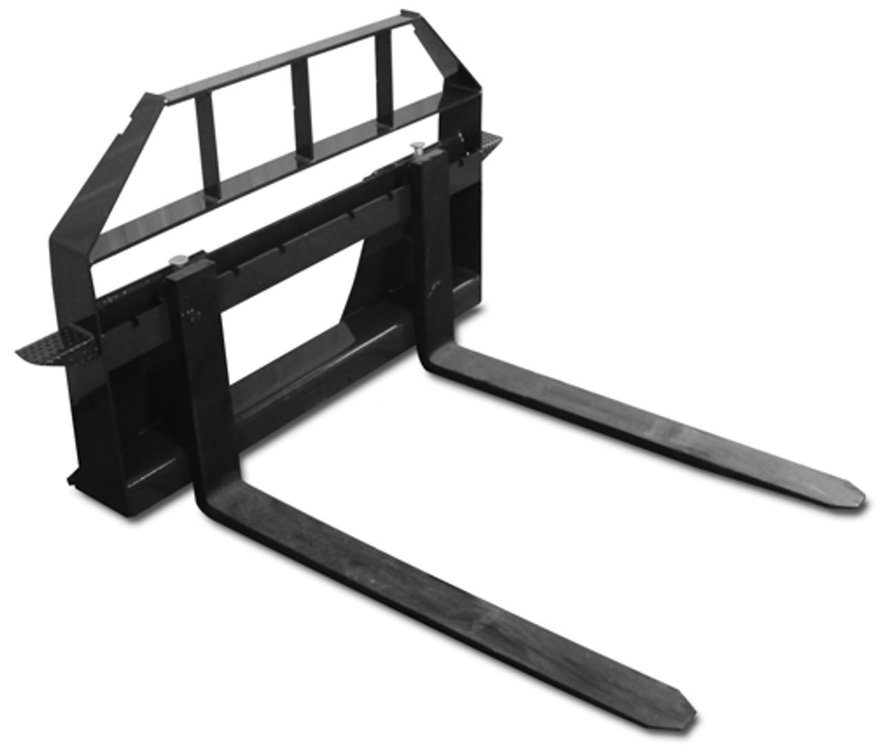 """Mini Skid Steer Pallet Forks for ASV RC30 Mount 42"""" Forks"""