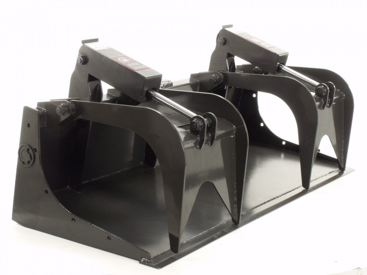 "Skid Steer Grapple Bucket Attachment 66"" Wide Economy Series"
