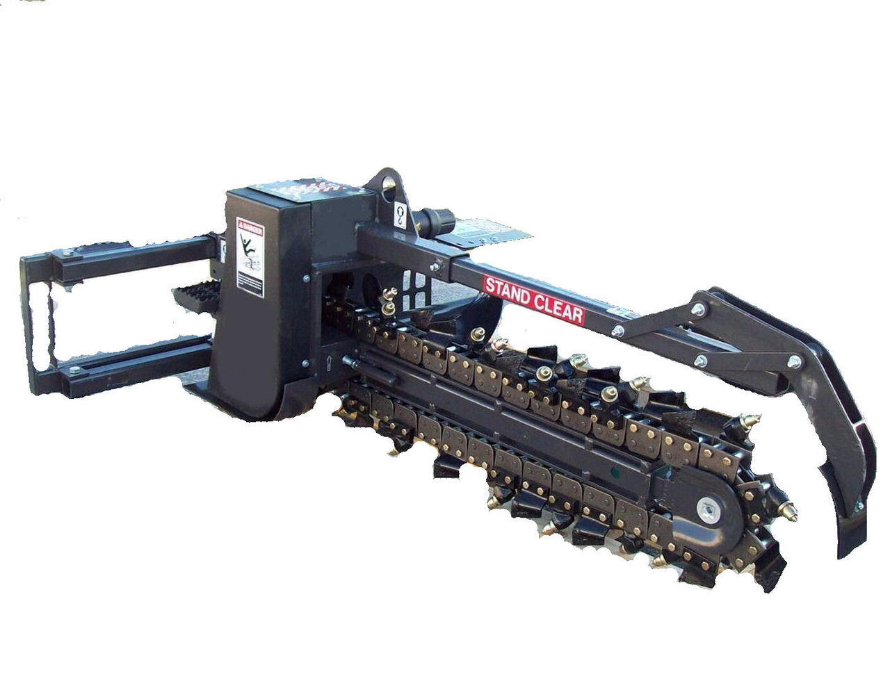 Trencher Model SE625 With Rock & Frost Chain