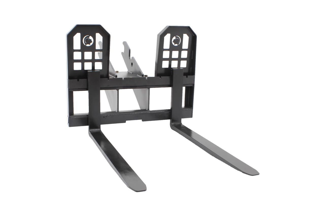 """Mini Excavator Pallet Forks 48"""" Long"""
