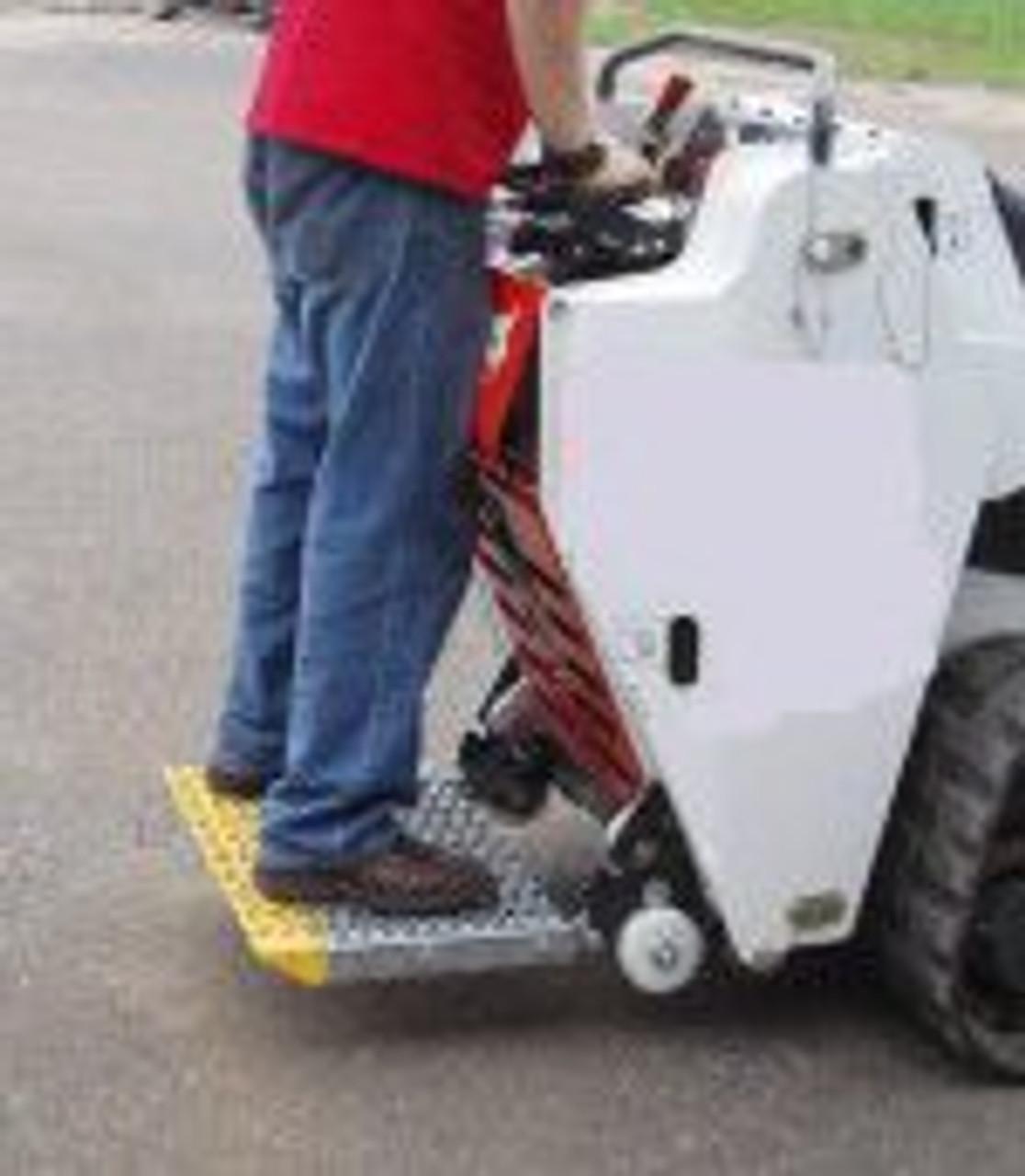 Bobcat Mini Skid Steer Riding Platform for - Bobcat MT50