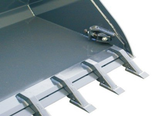 Skid Steer Toothbar Attachment For Buckets With Bolt On Edge Professional  Series