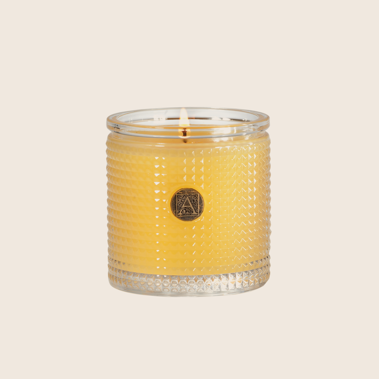 Textured Candle - Agave Pineapple