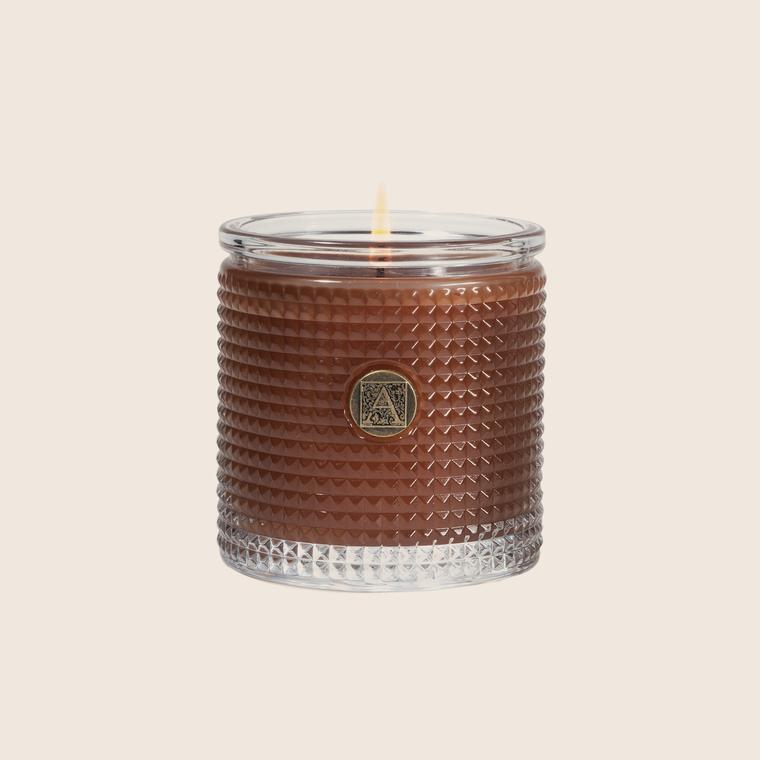Textured Candle - Cinnamon Cider