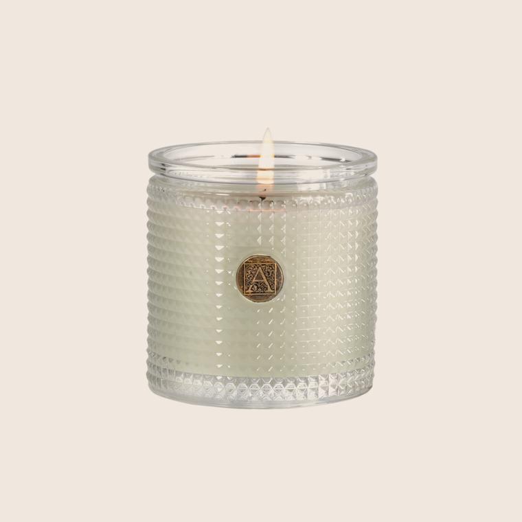 Textured Candle - Fresh Hydrangea
