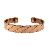Twisted Copper Cuff