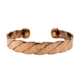 Chara Twisted Copper Cuff