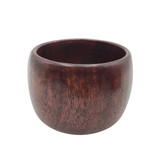 Chunky Plain Wood Bangle