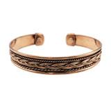Ira Woven Copper Energy Cuff