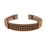 Ameena 4 Layer Twisted Copper Cuff