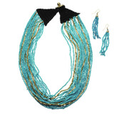 Rani Seed Beads Necklace and Earring Set