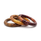 Filipi Laminated Wooden Bangles - Set Of 3