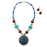 Jamila Mosaic Necklace Set