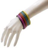 Cyrene Rainbow Stack Bangles