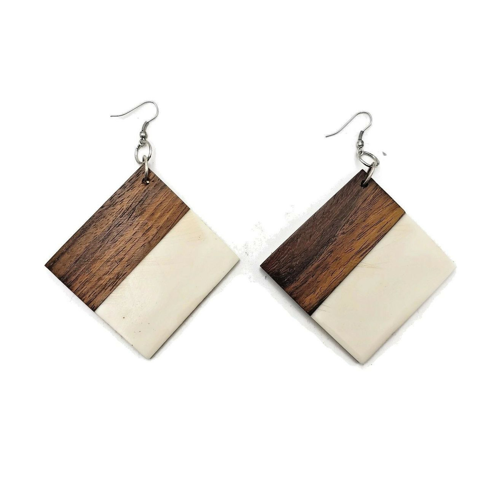 Wood and Resin Earring ER2881