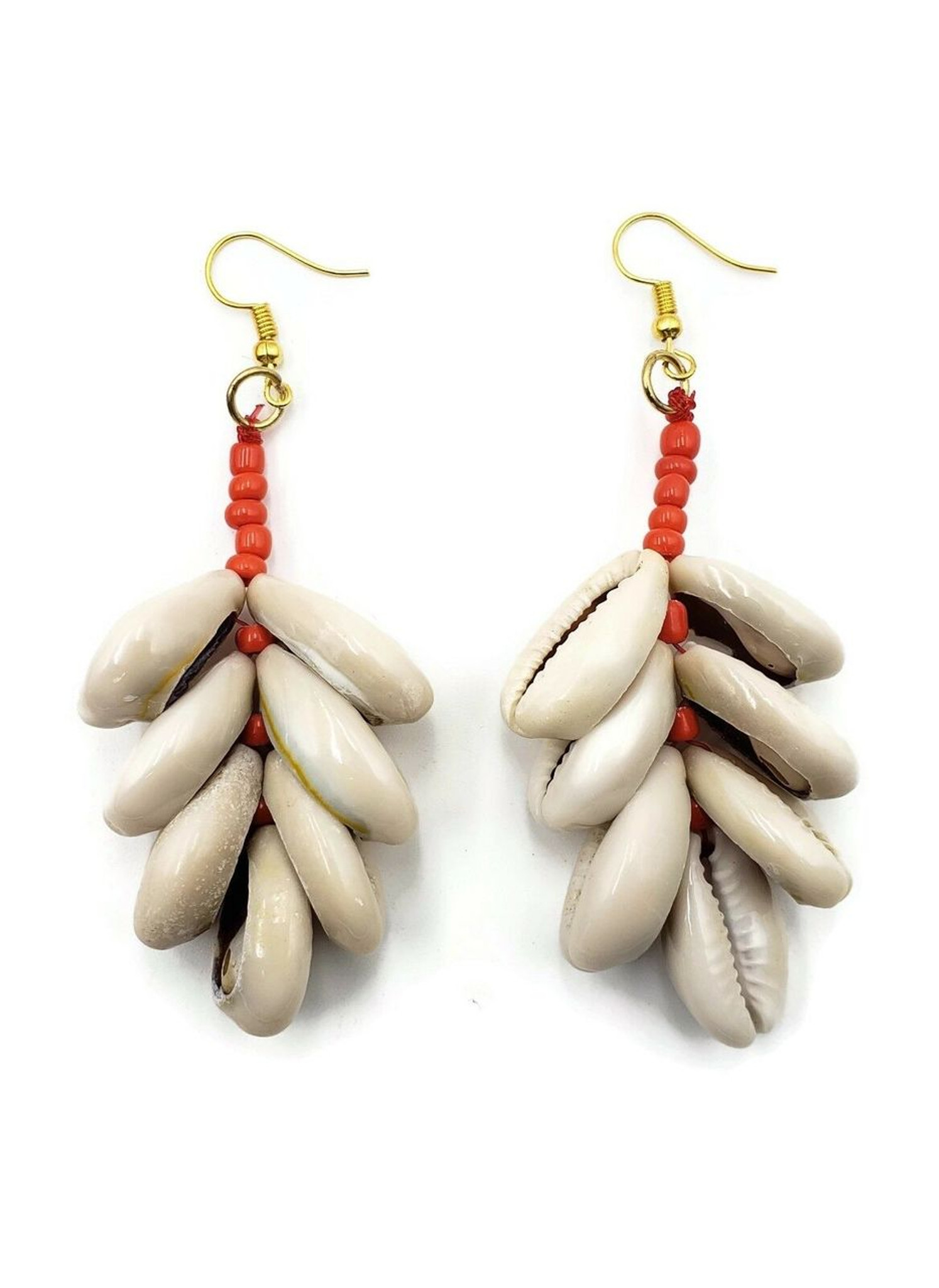 Velani Cowrie Shell Earrings