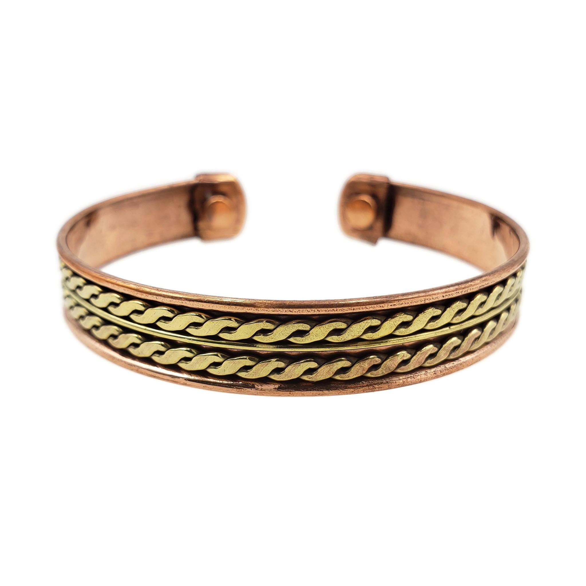 Brass Lined Copper Cuff