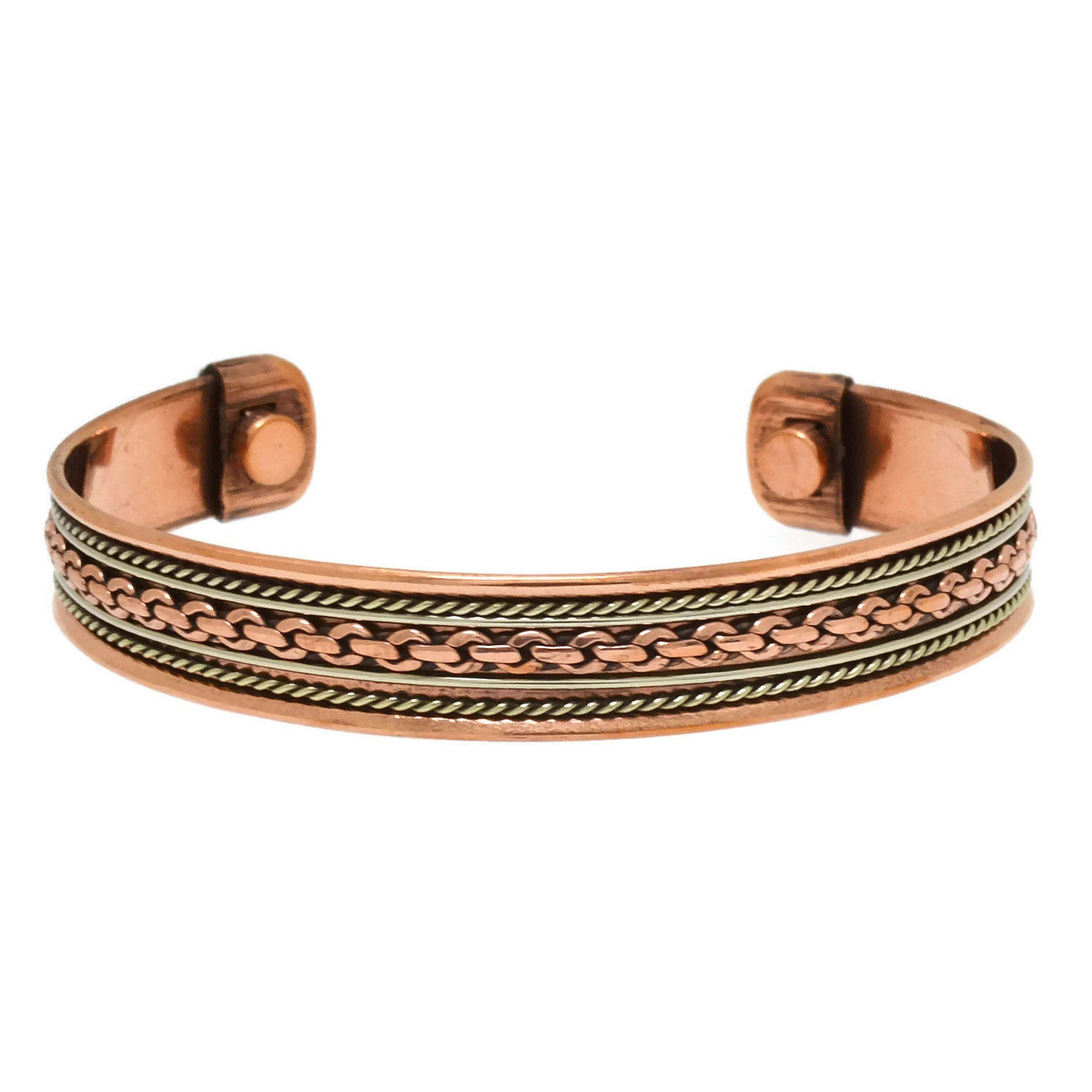 Copper Links Energy Cuff