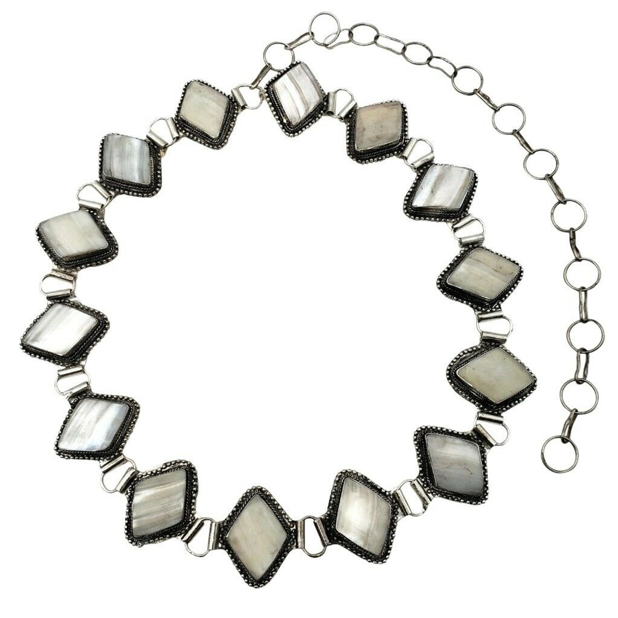 Trissa Cavi Silver Plated Belt
