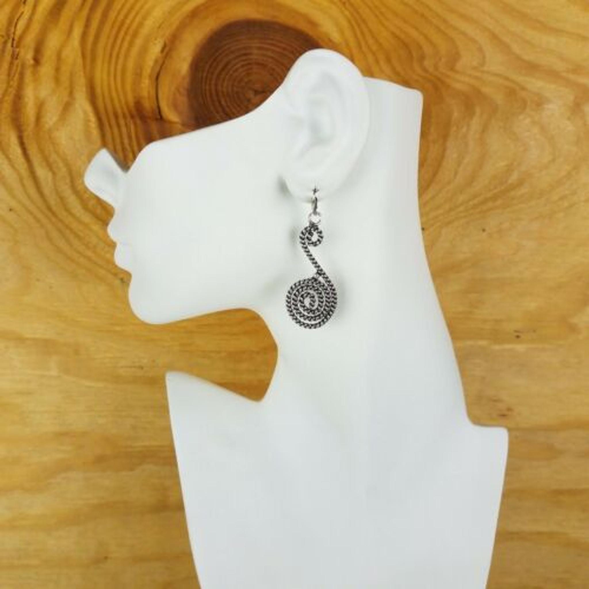 German Silver Plated Earrings