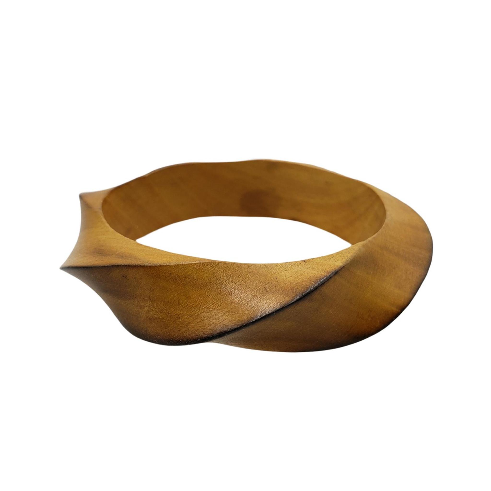 Palesa Twisted Wood Bangle