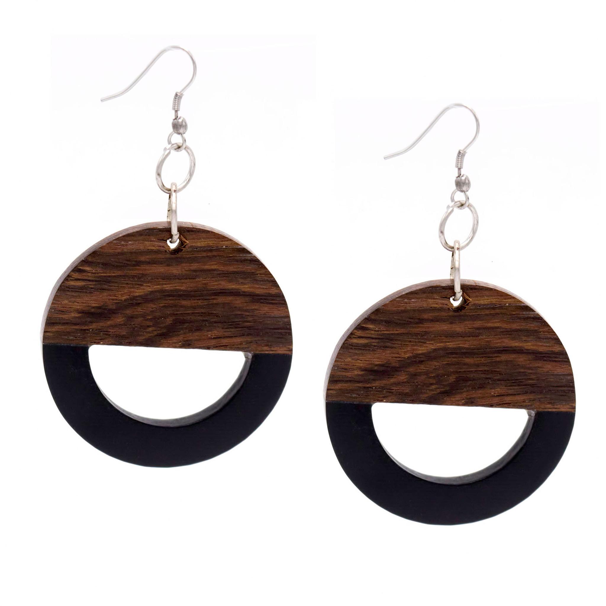 Wood and Resin Earring ER2882