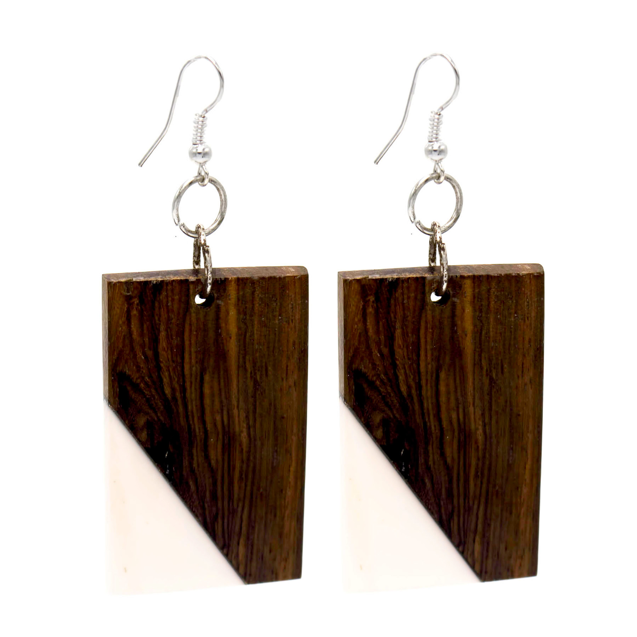 Wood and Resin Earring ER2883