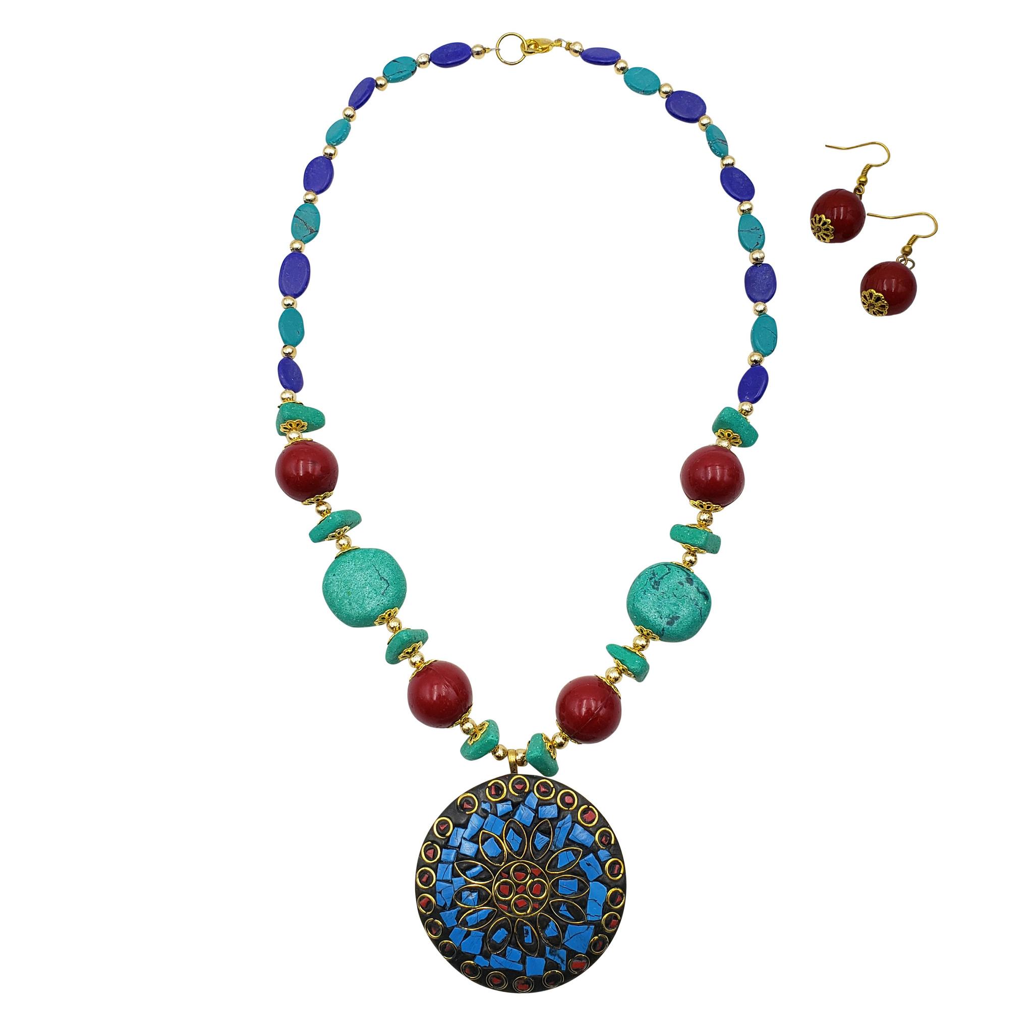 Jamila Mosaic Necklace Set