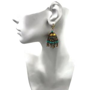 Jhumki Mosaic Earrings