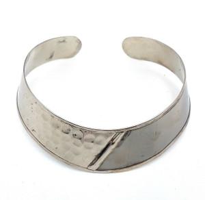 Ntara Brass Choker Necklace and Cuff Set