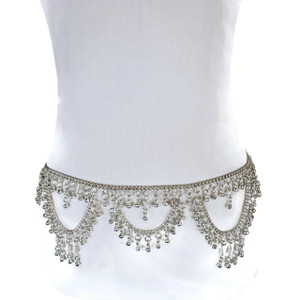 Samaira Unique Coin Fringe Tassel Belt