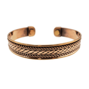 Jasmine Copper Energy Cuff
