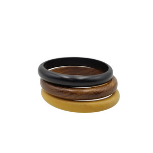 Nanjala Wooden Bangles Set Of 3
