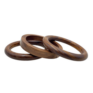 Ranga Wooden Bangle Set of 3
