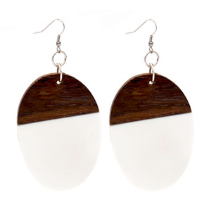 Wood and Resin Earring ER2885