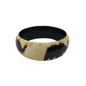"Jendayi Resin Bangle Bracelet Elephant Design 1"""