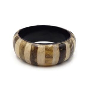 "Wooden Bangle Strips Design 1"""