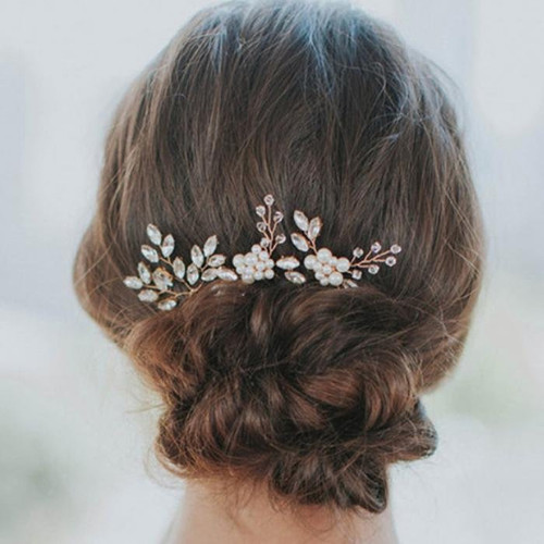 Set of 3 Hairpins - Bridal Hair Pins