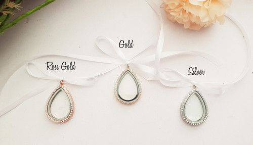 Choice of 3 colours - Silver, Rose Gold or Gold.